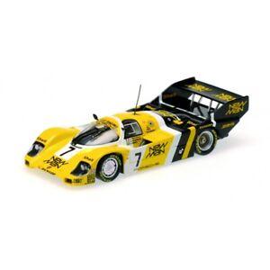 MINICHAMPS 540 841807 PORSCHE 956K Joest Racing model car Ayrton Senna 1984 1:18