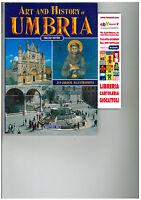 ART AND HISTORY OF UMBRIA, ENGLISH EDITION, BONECHI, GUIDA TURISTICA UMBRIA