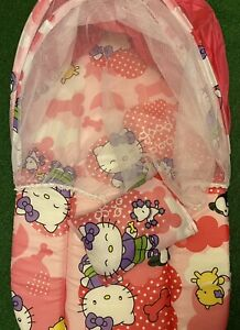 Hello Kitty Portable Soft Comfy Baby Sun Shade Tent Shelter With Pillow