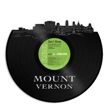 Mount Vernon New York Vinyl Wall Art Cityscape Souvenir Home Room Decoration