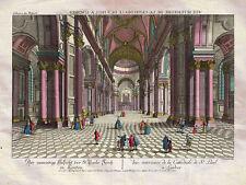 St Pauls Cathedral London Interior England Leizelt 1770