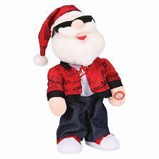 33cm Singing and Dancing Santa  - Sings and Dances to Usher -Yeah