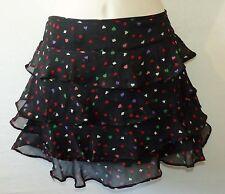 TOPSHOP mini floral frill skirt UK 10 US 8 EU 38