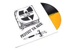 "Wu Tang Clan Protect Ya Neck/Method Man 12"" Yellow and Black Vinyl RARE!!!!"