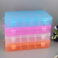 36 compartment Plastic Box Case Jewelry Bead Display Storage Container 274X174mm