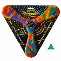 AUSSIE SUPERANG, Australian Made BACKYARD BOOMERANG Soft safe Foam, AMBIDEXTROUS