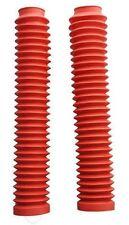 Rouge guêtre de fourchette pour: Honda NX650 Dominator 88-02