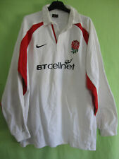 Maillot Rugby Angleterre 1999 Nike jersey England BTcellnet Vintage coton  - L