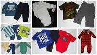 Baby Boys 12 month Lot Jeans Shirts Bodysuits Spring Winter Carters Gap Osh Kosh
