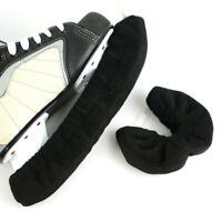 Black Soft Ice Skate Blotters, Covers, Skate Guards, Blade Buddies Soakers
