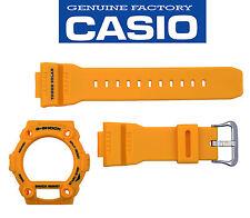 Casio G-Shock Original GW-7900CD-9Mustard Watch Band & Mustard Bezel Rubber Set