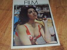 Film 33/1974 polish magazine Seyyal Taner, Nicole Calfan, Dominique Sanda