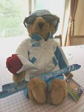 "Vermont 17"" Brown Teddy Bear Dressed for Skiing with Skis & Sunglasses"