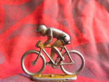 Figurine de cycliste en aluminium à identifier (Quiralu ?) - Lot 5