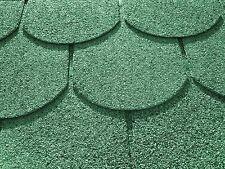 24 m² Biberschindeln grün Gartenhaus Schindeln Dachschindeln Dachpappe Bitumen