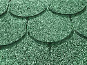 3 m² Biberschindeln grün Gartenhaus Schindeln Dachschindeln Dachpappe Bitumen