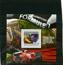 COMOROS 2010 RACING CARS/FORMULA 1 S/S MNH