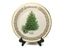 Lenox Christmas Tree Scotch Pine 1977 Annual Collector Plate Fine China Usa