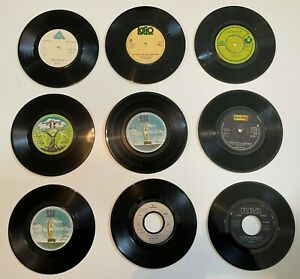 """117 x Pop, Disco, Rock 7"""" Singles  -  All VG-EX - Great Collection"""