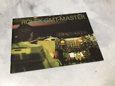 11.2006 ENG BOOKLET LIBRETTO ROLEX GMT MASTER II 16710 stick dial - 16713 16718