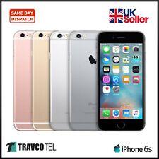 Apple iPhone 6S 32GB | calidad prístina | Desbloqueado Gris Espacio, oro, plata, rosa
