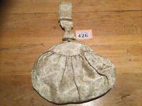 Vintage Circa 1950s RFC Gold Sparkly Clutch Bag With Diamanté Clasp
