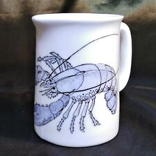 More details for lobster milk jug in white fine bone china with lilac coloured lobster