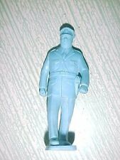 "Plastic railroad or village walking policeman 2 3/4"" tall"