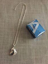 "AVON Beautiful Heart Pendant Necklace on Multi-Strand 16""Chain w/3"" Extender"