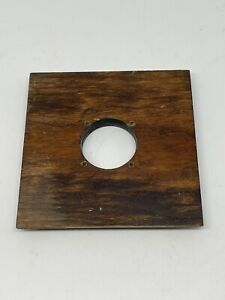 Wood 4x4 Lens Board For 4x5 Cameras Copal 0