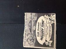 m1-5 ephemera 1949 Walthamstow advert cinema Walt Disney melody time