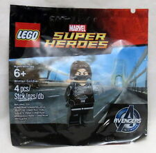 Lego Marvel Avengers Initiative Winter Soldier Polybag Minfigure Set