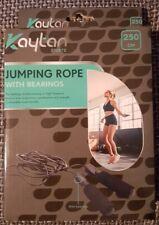 Springseil mit Kugellager Jump Rope Fitness Sprungseil 2,5m Crossfit Boxen