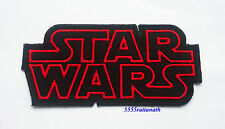 STAR WARS Movie Logo TAG Classic Patch Badge 5x10 cm 4""