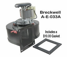 BRECKWELL PELLET STOVE A-E-O33A  [PP7310] DISTRIBUTION BLOWER FAN  OEM