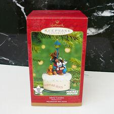 Hallmark Disney 2001 Merry Carolers Music Box Ornament Mint Box Tested It WORKS!