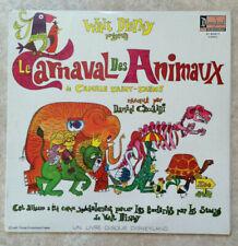 33T D. CECCALDI SAINT-SAENS Vinyle LP 12 CARNAVAL DES ANIMAUX Enfants DISNEYLAND