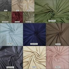100% Polyester Light Weight Very Soft Suede Fabric by The Yard