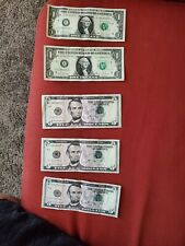Us paper money large size notes star