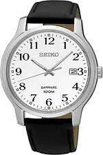 SEIKO SGEH69P1,Men's QUARTZ,STAINLESS CASE,SAPPHIRE CRYSTAL,100m WR,NEW,SGEH69