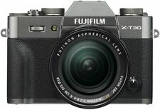 FUJIFILM X-T30 Mirrorless Digital Camera with 18-55mm Lens (Charcoal Silver)