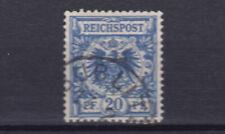 Briefmarken Deutsches Reich 48 bb gestempelt, Freimarken,