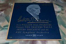 "Arturo Toscanini~Rossini~Waldteufel~NBC Symphony Orchestra~RCA Victor LM-14~10"""