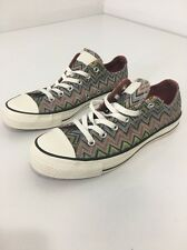 New Chuck Taylor Missoni Converse Ox  Shoe Size US 7 Men's & US 9 Womens