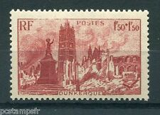 FRANCE - 1945, timbre 744, ENTRAIDE FR., DUNKERQUE PLACE JEAN BART , neuf**