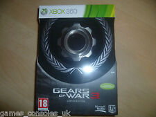 XBOX 360 GEARS OF WAR 3 LIMITED COLLECTORS EDITION NEW AND SEALED!