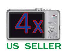 4x Clear LCD Screen Protector Guard Film For Panasonic Lumix DMC-ZS20