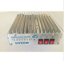 NEW 50W Dualband power VHF(136-174)&UHF 400-470MHz Linear Amplifier only use FM