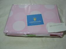 New Tiddliwinks Ladybug Fabric Shower Curtain Pink - Red New