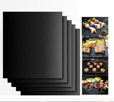 1x Non Stick Outdoor BBQ Grill Mat Bake Grilling Mats Barbecue Pad Teflon Fiber